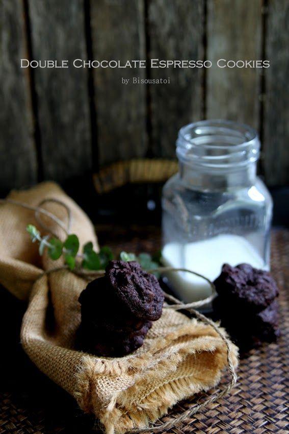 Double Chocolate Espresso Cookies   Classy Treats   Pinterest