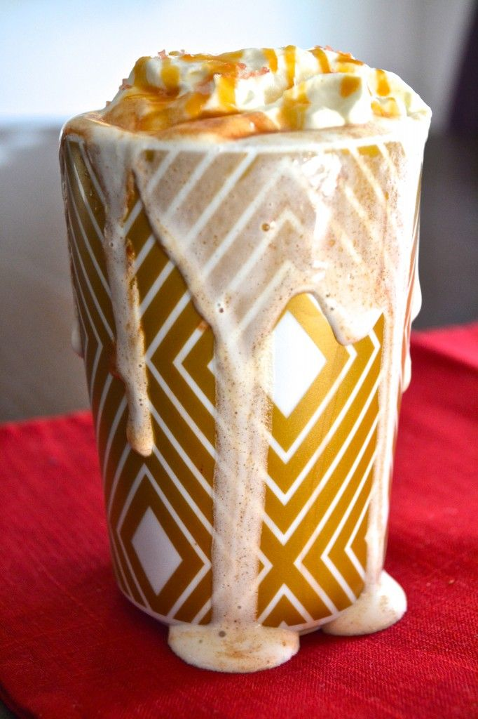 Homemade Salted Butterscotch Hot Chocolate (with or without schnapps!)