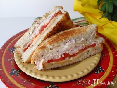 Grilled Turkey and Swiss