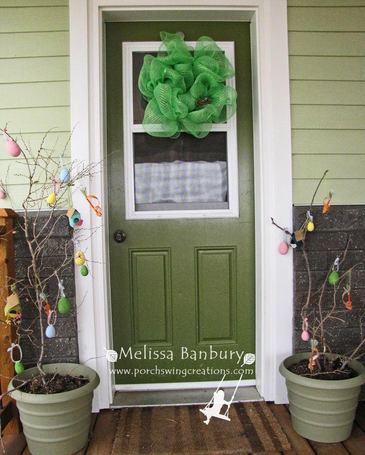 Spring Porch Decor | Stampin' Up! | Pinterest