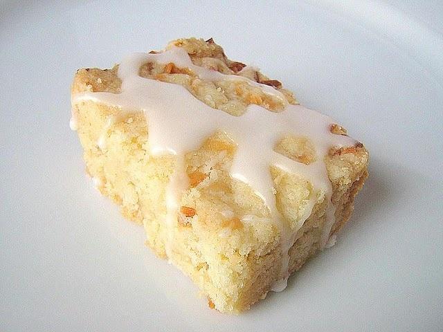 lime glazed coconut shortbread | Bars n Cookies | Pinterest