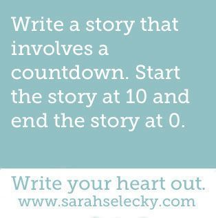 creative writing prompt