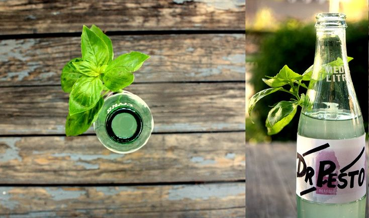 Basil Soda | Yummy Drink Recipes | Pinterest