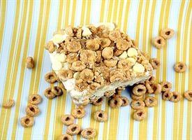 Honey Nut Cheerio Ice Cream Crunch Cake | Recipe