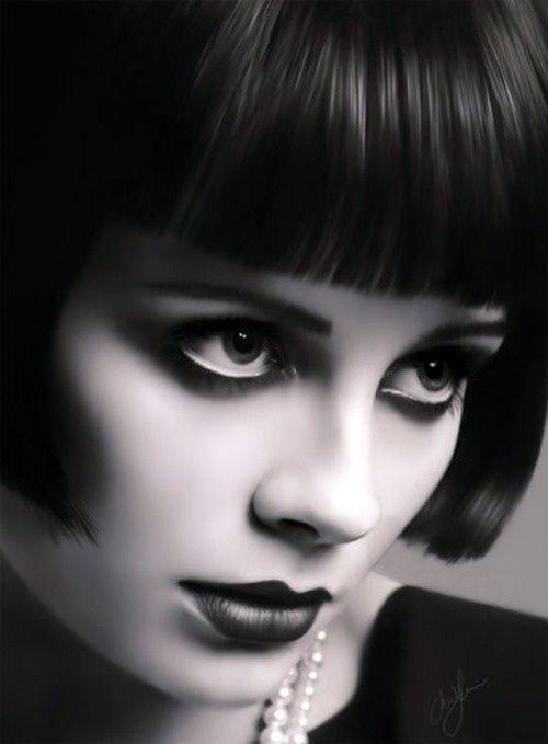 1920s short bob hairstyle hair pinterest