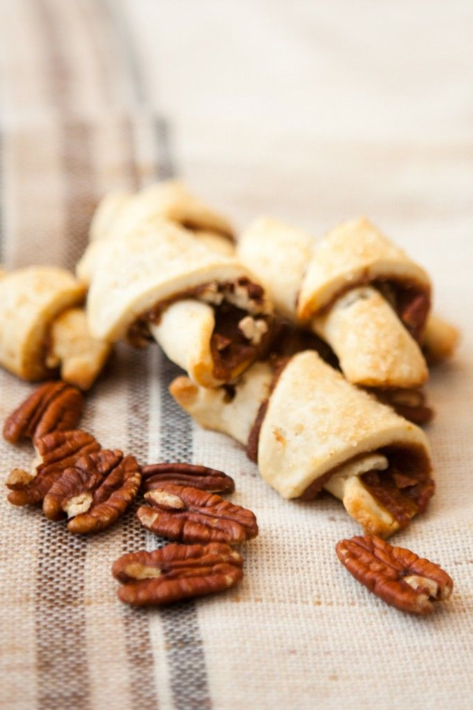 Pecan Pumpkin Pie rugelach | Dessert | Pinterest