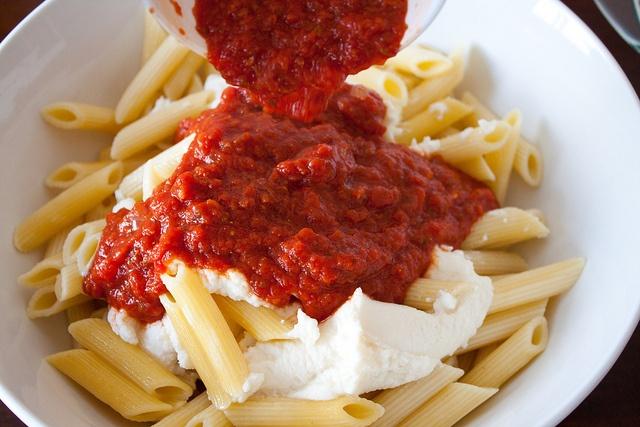 Three Cheese Baked Ziti | calories calories calories | Pinterest