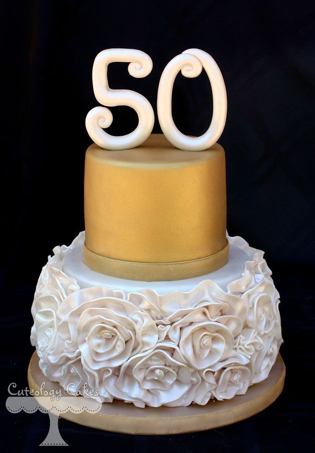 Image result for 50  wedding anniversary cake