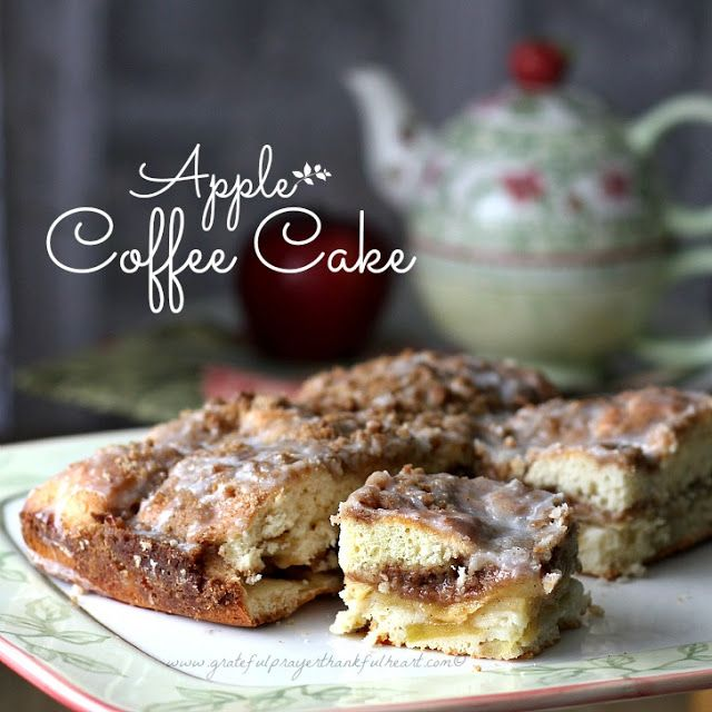 Apple Coffee Cake!! | Sweet Tooth | Pinterest