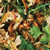 Wheat Berries with Charred Onions and Kale - Bon Appétit
