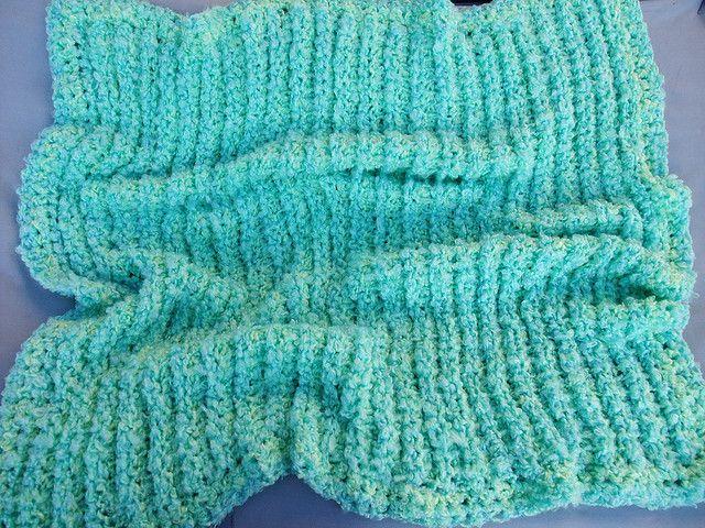 Tunisian Crochet Baby Blanket Pattern : Double Cuddles Blanket-free pattern Tunisian Crochet ...