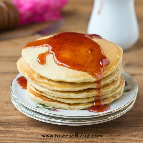 Peanut Butter and Jelly Pancakes | Recipe