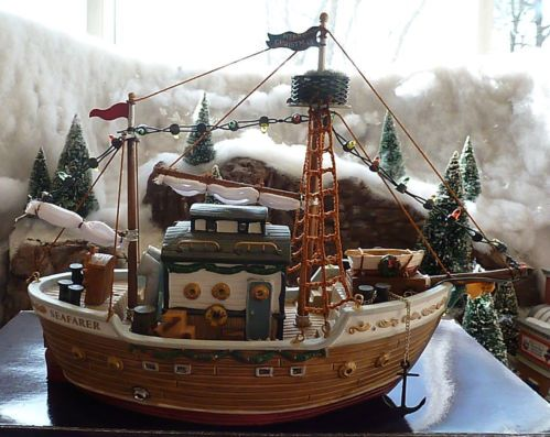 Carole towne collection quot seafarer quot battery operated christmas