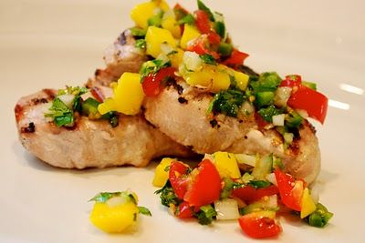 Taco Style Grilled Pork Chops Recipes — Dishmaps