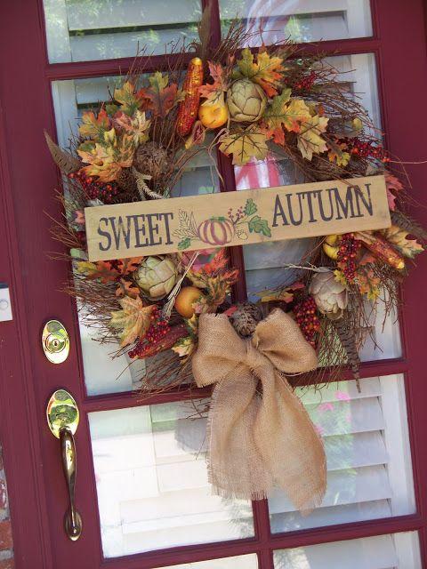 DIY::Sweet Autumn Wreath