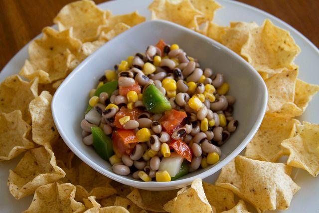 Black-Eyed Pea Salsa ~ I love me some black-eyed peas!!!!