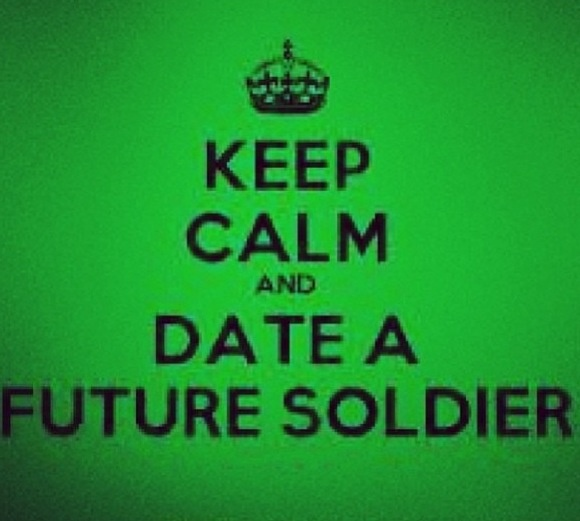 Keep calm and date a future soldier quotes pinterest