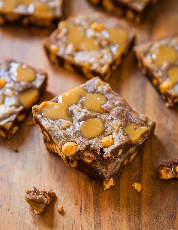 Averie Cooks » Browned Butter Caramel and Butterscotch Bars