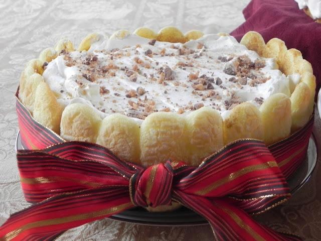Easy Toffee-White Chocolate Tiramisu | Sweet Tooth | Pinterest