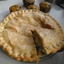 ... , it spills over and ruins the pie. Chicken Pot Pie II Allrecipes.com