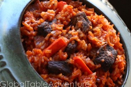 Fat Rice with Beef & Carrots (Riz au Gras)   Recipe
