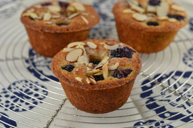 blueberry muffin-financiers | Beautiful Food | Pinterest
