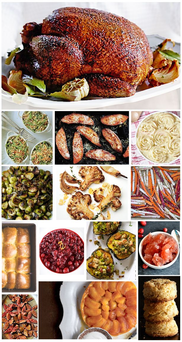 thanksgiving holiday dinner ideas recipes pinterest