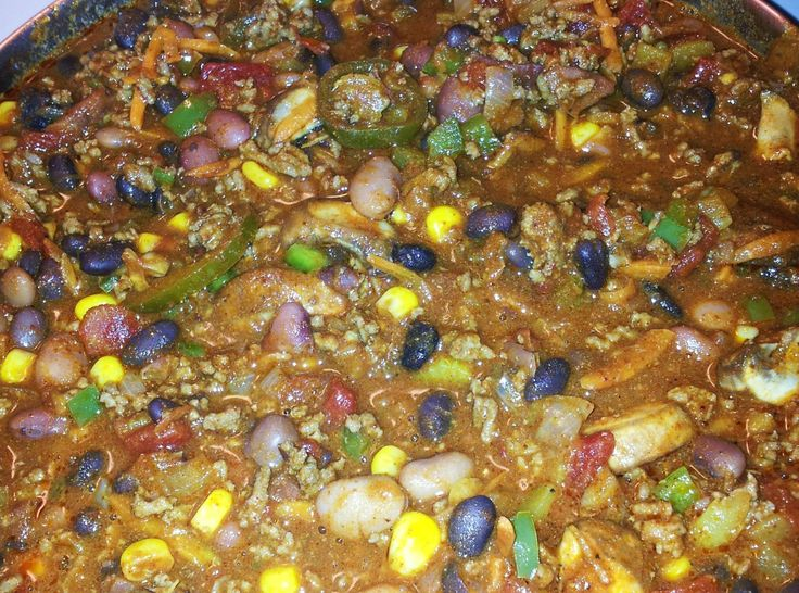 Everything but the kitchen sink Chili | Favorite Recipes | Pinterest