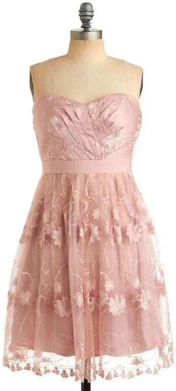 ModCloth  Rosedust Dress