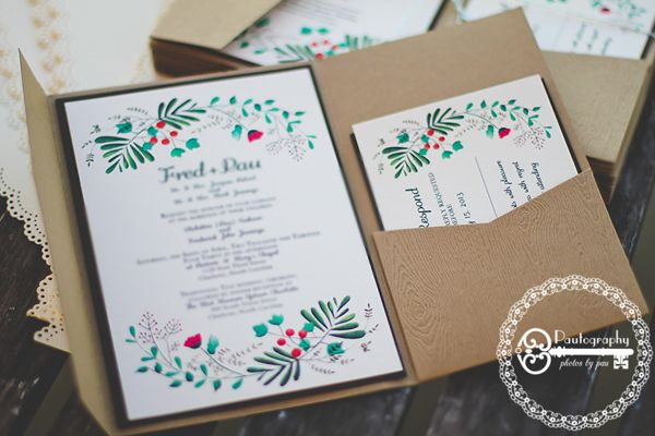 20+ Unique Outdoor Wedding Invitations | Estate Weddings and Events