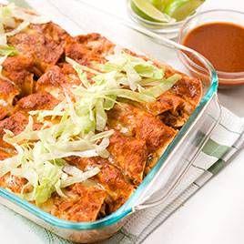 Lighter Chicken Enchiladas - Cooks Illustrated