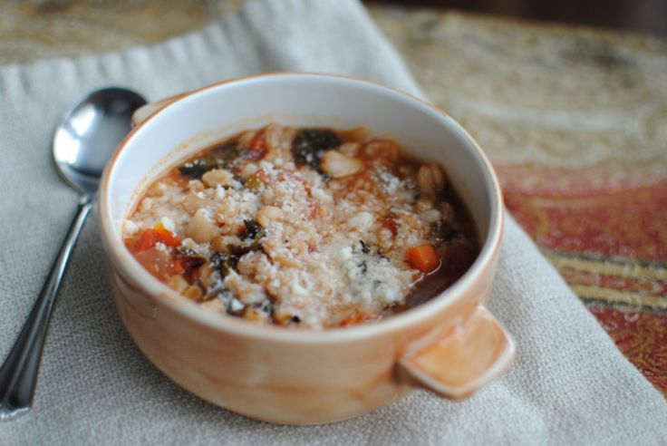 Vegetable and Farro Soup | Soups, Chilis and Stews | Pinterest