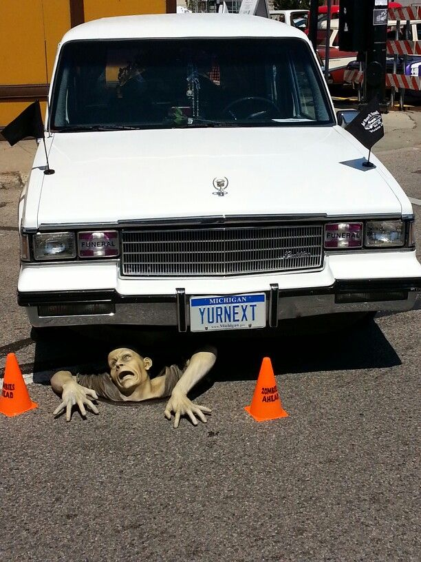 Hearse at back to the bricks flint mi the other side pinterest