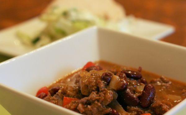 Beef and Bean Chile Verde (I like to sub ground turkey for the beef ...