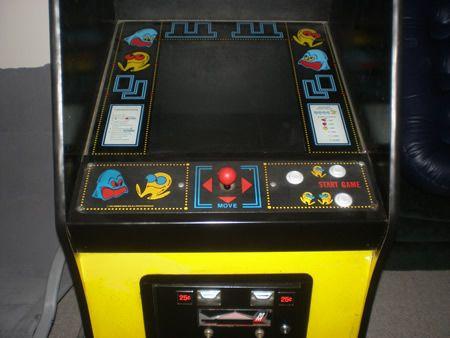 Pac man conrol panel and black tmolding arcade pinterest
