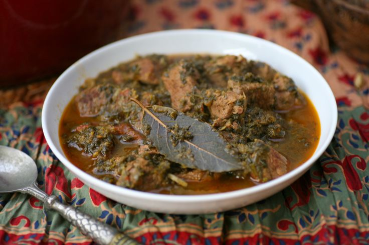 Indian Lamb and Spinach Curry | All about life | Pinterest