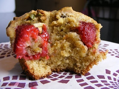 Pistachio-Raspberry Tea Cakes | Cakes | Pinterest