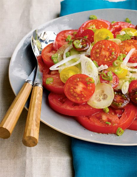 Asian Cucumber Salad Recipe With Cilantro And Vidalia Onions Recipe ...
