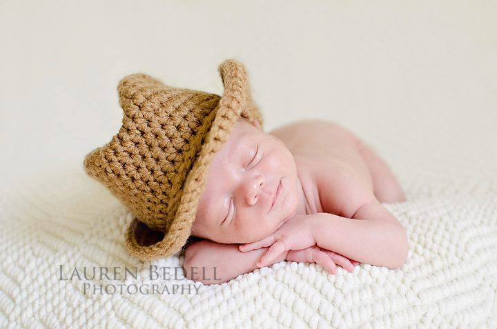 Crochet cowboy hat, cowgirl hat, children clothing ...