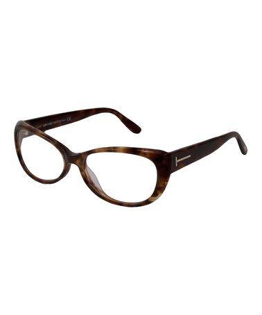 tom ford tortoise butterfly eyeglasses