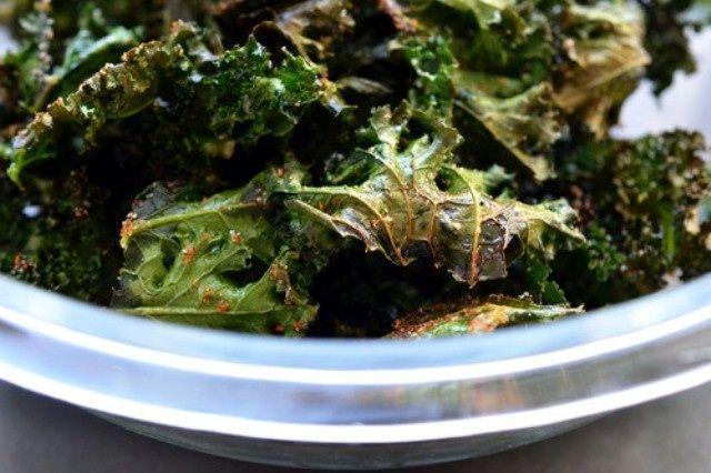 Baked Kale Chips | Bustle | Dinner is Served | Pinterest