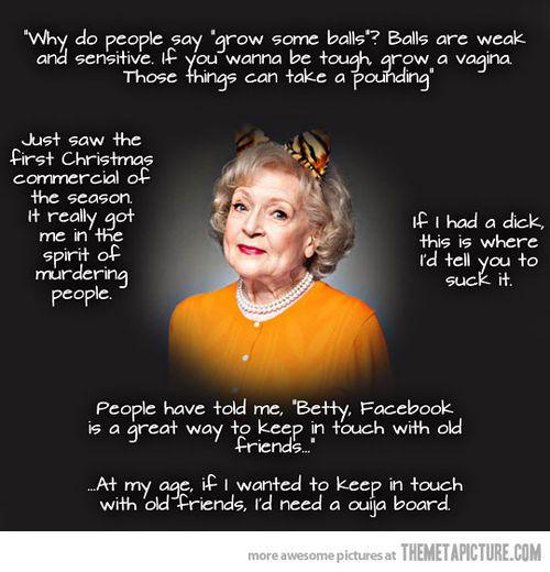 Betty White!