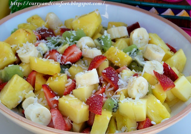 Tropical Fruit Salad | Curry and Comfort Recipes | Pinterest