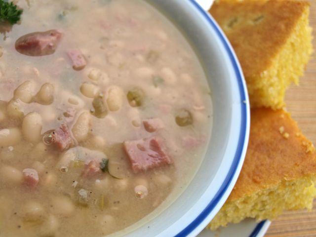 "Senate Bean Soup | ""Souper"" Soups | Pinterest"