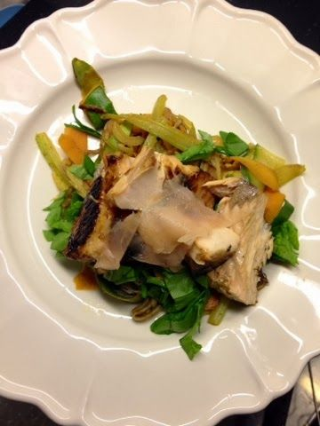Salmon with roasted Veg & Ginger | Clean Lean Green Queen | Pinterest