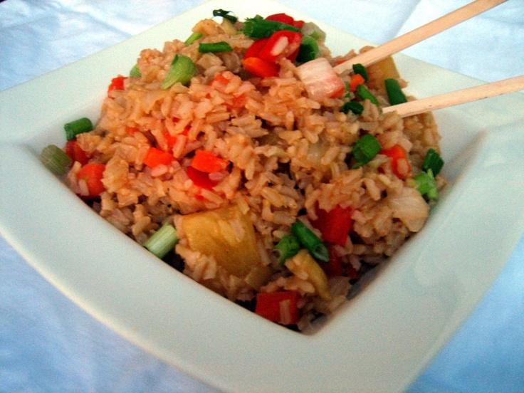 Hawaiian Rice Pilaf! | Hawaiian Luau Party ideas | Pinterest