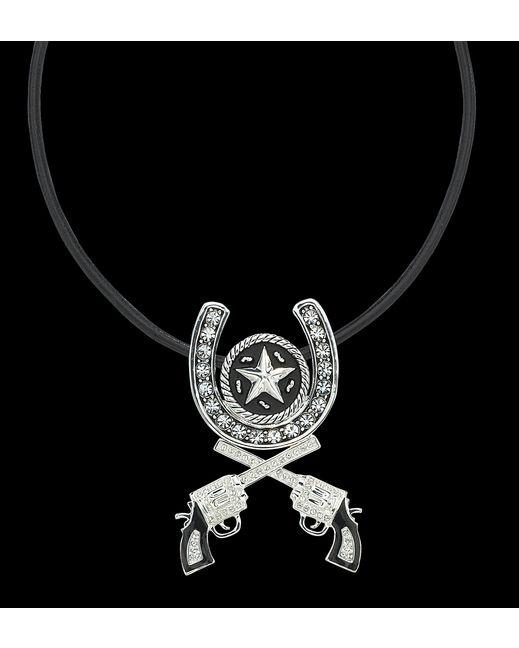Horseshoe Roped Star and Pistols NC . $44.95
