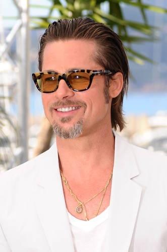 Actor, Brad Pitt, wear... Brad Pitt