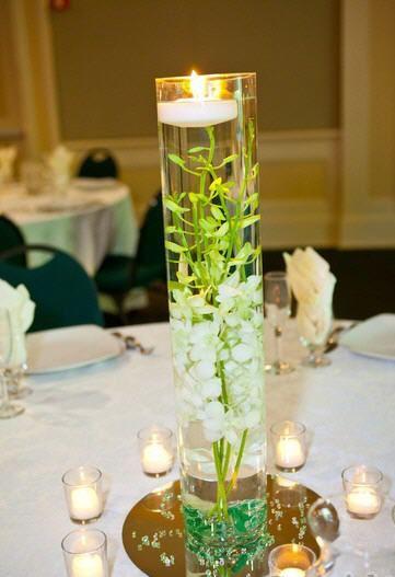 Diy orchid wedding centerpiece flowers ideas