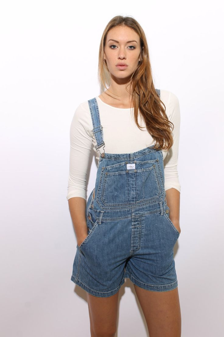 naked women in overalls